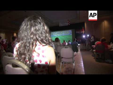 Americans gathered across the country Thursday to watch the kick off game of the World Cup. Fans gat