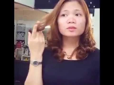 P2 Chia sẻ phục hồi tóc cực hư tổn và uốn tóc sau khi phục hồi - [Tuấn Dương] - TAOMAUTOC.VN