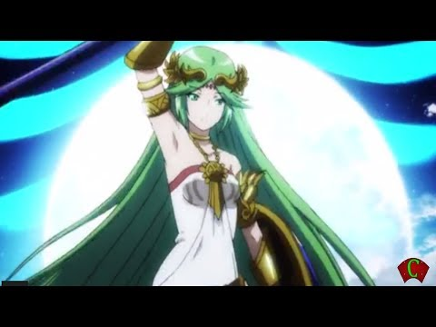 Super Smash Bros 4 Characters: Palutena @ E3 2014 Trailer (WII U / 3DS Gameplay) 【All HD】