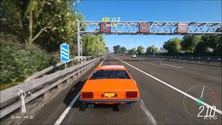 Forza Horizon 4 - Lamborghini Jarama S 1972 - Open World Free Roam Gameplay (HD) [1080p60FPS]
