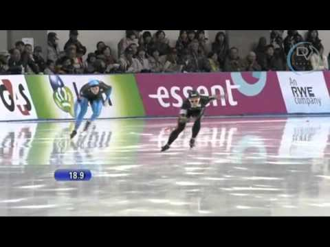 Nao Kodaira & Heather Richardson 500m, 1st round, Obihiro 2010