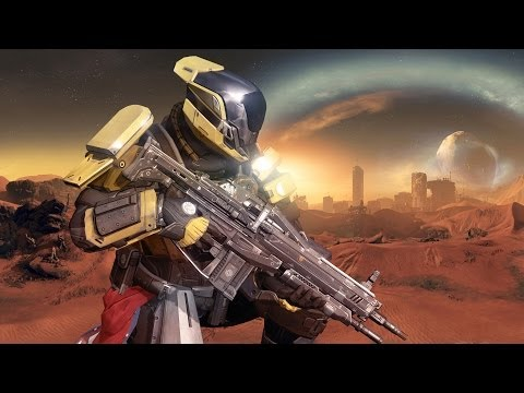 Destiny Crucible Gameplay: Mars - Blind Watch - Titanic Defeat - IGN First