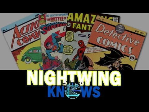 Nightwing Knows | What Got Me Into Comic Books & What is My Favorite Comic Book Movie
