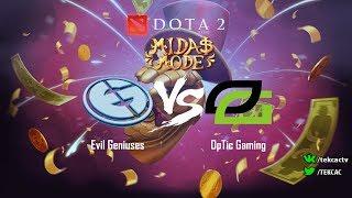 Evil Geniuses vs OpTic Gaming   bo3   Midas Mode by @Tekcac and @1ceN1ce