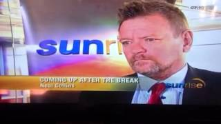 Intro to main interview about football and FIFA elections, quick rant against xenophobic attacks in