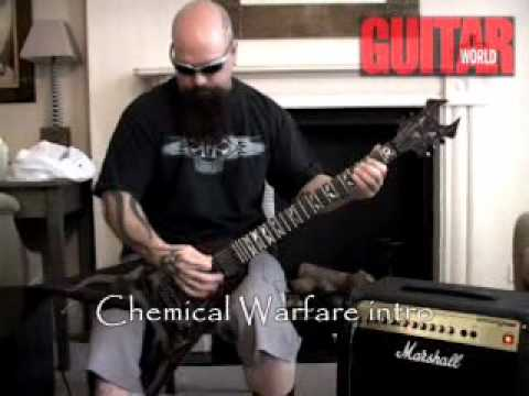 Slayer riffs with Kerry King