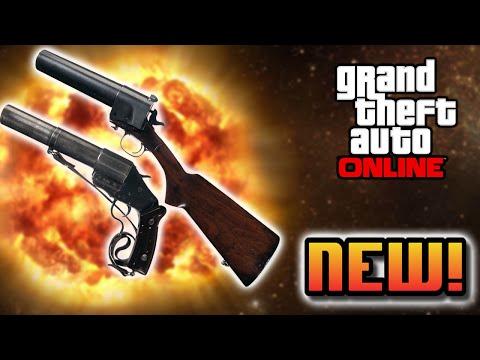 Guns Gta 5 Online ▶ Gta 5 Online Leaked Flare