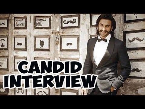 Ranveer Singh's CANDID Interview - EXCLUSIVE