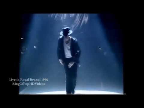 """Michael Jackson - """"Billie Jean"""" Live in Jerudong Park Amphitheatre, Bandar Begawan (Brunei), during the concert celebrating the Majesty's 50th Anniversary in 1996. Improved and upscaled..."""