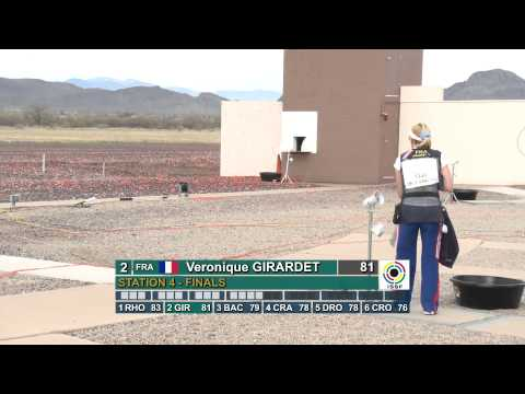 GBR) Finals Skeet Women -­ ISSF Shotgun World Cup 2012, Tucson (USA