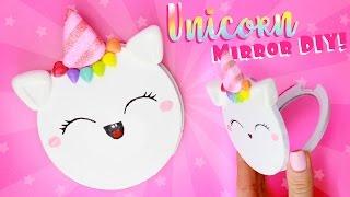 Diy Unicorn Mirror  Easy Fun Diy     Acupofcaketv