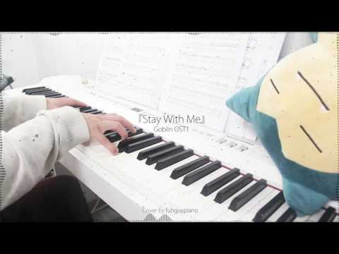 Goblin 도깨비 OST1 - Stay With Me by CHANYEOL (찬열), PUNCH (펀치) - piano cover