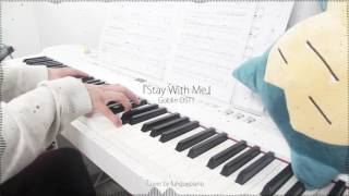 Goblin 도깨비 OST1 - Stay With Me By CHANYEOL 찬열, PUNCH 펀치 - Piano Cover W Sheet Music