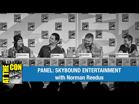 SDCC 2014 Skybound Entertainment Panel ft. Norman Reedus