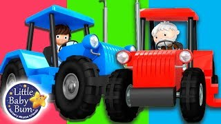 Tractor Song | Vehicle Song  | + More Nursery Rhymes & Kids Songs | Songs for Kids | Little Baby Bum