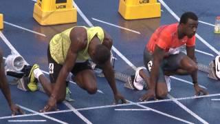 Usain Bolt - Running 100m in Toronto, Ontario, Canada at Varsity Stadium for Jamaica