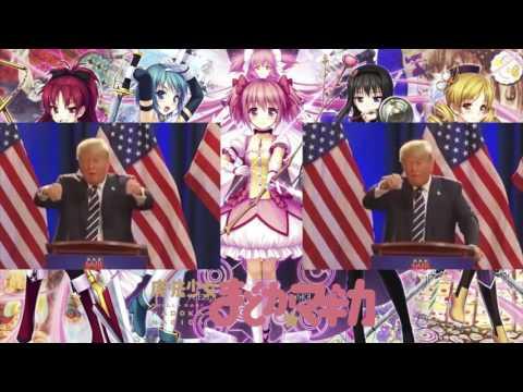 Donald Trump Sings Connect (Puella Magi Madoka Magica opening)
