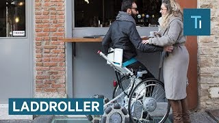 This Wheelchair Can Go From A Seated To Standing Position In Seconds