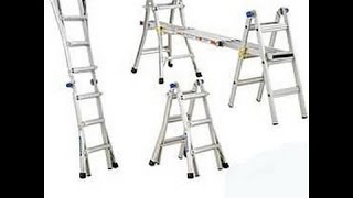Werner Multi-Ladder How To Use