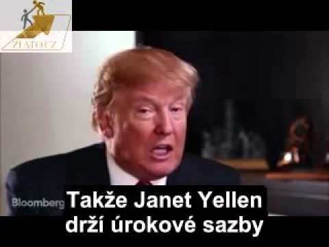 Donald Trump on Janet Yellen keeping interest rates and Obama playing golf
