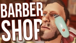 The Barber Shop - The Barber Shop Becomes Dangerous! (The Barber Shop Game Gameplay)