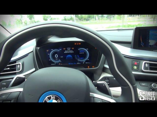 BMW i8 - Interior and Displays - YouTube