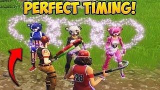 THE MOST PERFECT TIMING! - Fortnite Funny Fails and WTF Moments! #330
