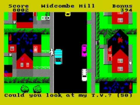 Trashman Walkthrough, ZX Spectrum