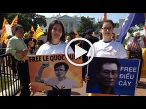 Biểu tình chống Trương Tấn Sang