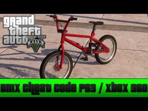 GTA 5 Cheat Code: BMX (PS3/XBOX 360) (GTA V)
