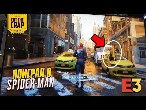 Marvel's Spider-Man – E3 2018 Showcase Demo Video | PS4