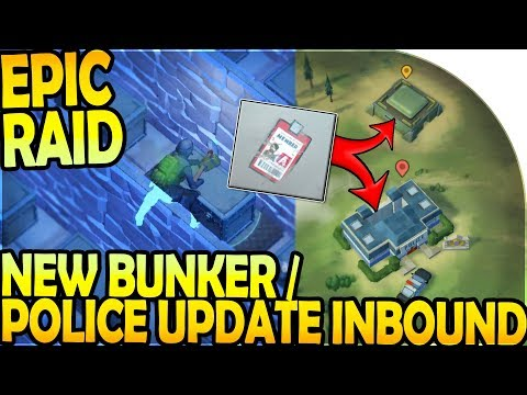 NEW POLICE STATION / BUNKER UPDATE INBOUND - EPIC RAID - Last Day On Earth Survival Update 1.9.6