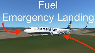 FUEL Emergency Landing In Infinite Flight
