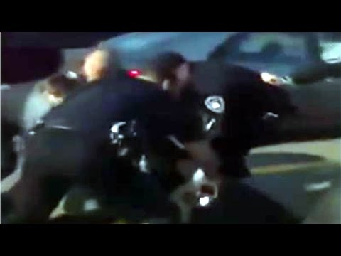 Police Brutality: Cops Taser a Man in Alabama for Asking Questions