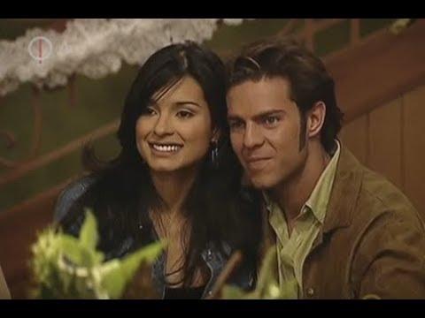 Paola Rey y Juan Alfonso Baptista en sus telenovelas