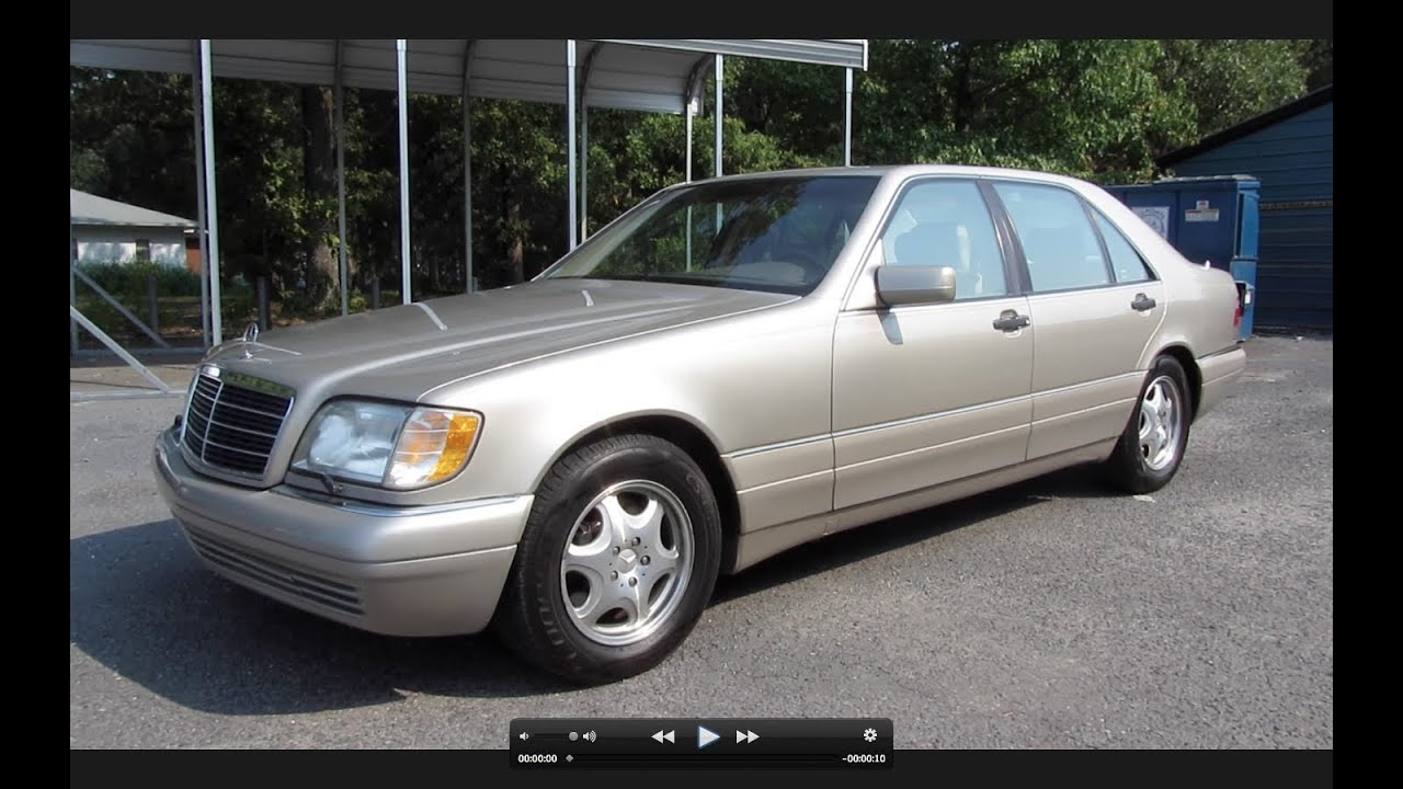 1997 mercedes benz s500 start up exhaust and in depth for 1997 mercedes benz e320 review