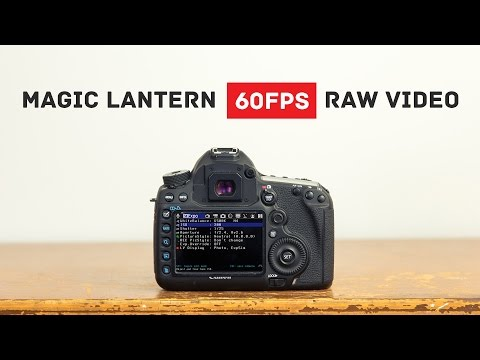 Magic Lantern RAW 60fps Slow Motion Tutorial