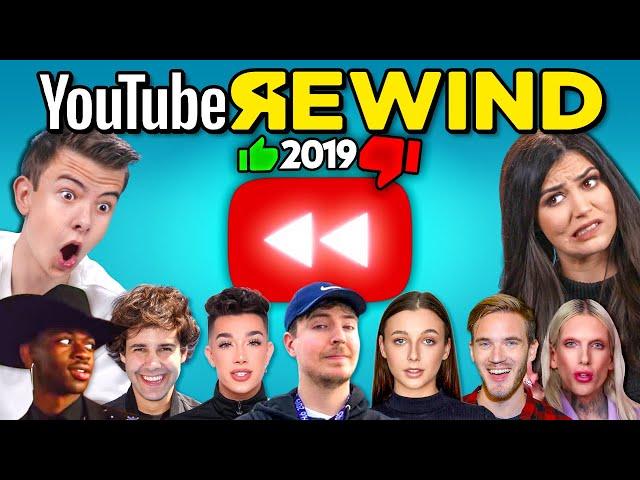 Teens & College Kids React To YouTube Rewind 2019 thumbnail