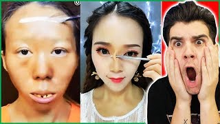Viral Asian Makeup Transformation Tutorials