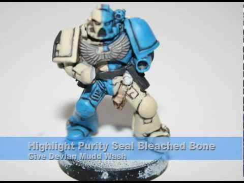 Warhammer 40k Painting Tutorial - How to Paint Novamarines