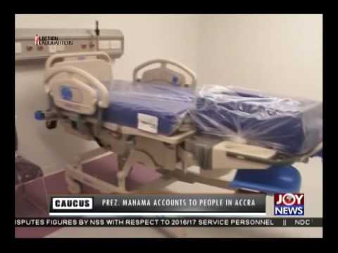 Prez. Mahama Accounts to People in Accra - Majority Caucus on Joy News(22-6-16)