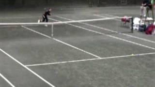 Lauren Davis Tennis Clip 2