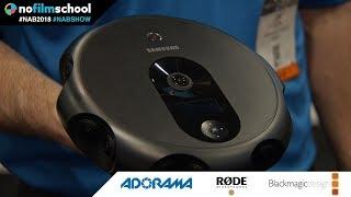 Samsung's New 360 Round VR Camera Captures 4K with 17 Cameras