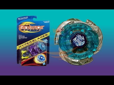 Beyblade Legends Hyperblades Omega Dragonis 85XF- BB-M28 Unboxing Review Giveaway Exp Sep 7th 2014