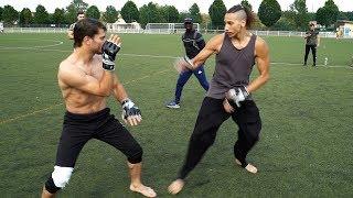 Ninja  vs Street fighter   (FreeFight)