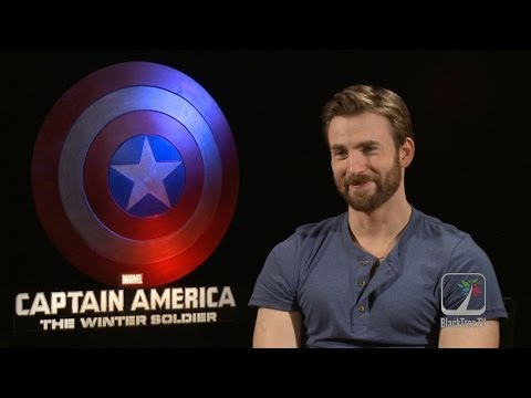 Captain America: The Winter Soldier Interview w/ Chris Evans