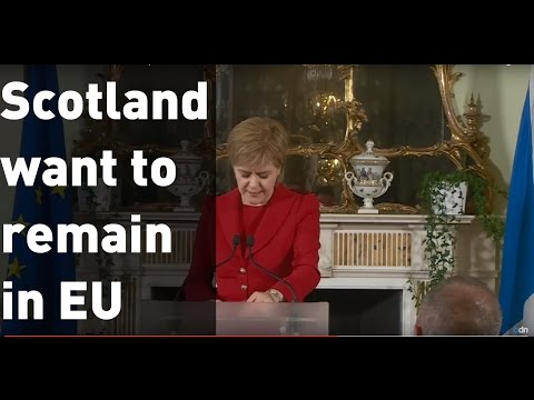 Brexit 2016: Scotland wants a second independence referendum