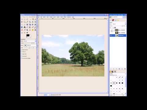Introduction to Layers in GIMP