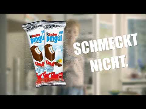 Kinder Pingui Werbung - Parodie