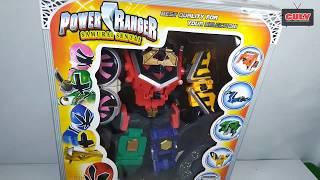 Lắp ráp Robot Siêu Nhân Thấn Kiếm đồ chơi trẻ em - toy for kids power rangers samurai megazord